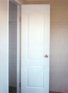 Two Panel Arched Interior Door