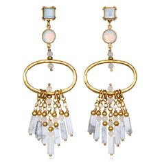 Sequin Tulum Chandelier Earrings yDy26pIb