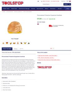 Link through from Toolstop April Fools' Email to product page #Web #Marketing #DIY #Home #AprilFools