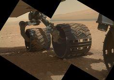 Curiosity: Wheels on Mars