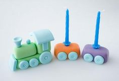 Modelar un tren con fondant