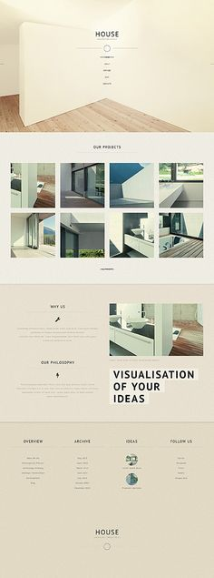 From the simple photography to the minimalist content, we love the minimalist design. #minimalist #webdesign