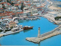 Crete island is the largest of Greece and is located in the south of the Aegean Sea. Crete is one of the most famous Greek islands and o. Creta Greece, Crete Island Greece, Greece Islands, Crete Hotels, Beach Hotels, Greece Tourism, Greece Travel, Crete Rethymnon, Places To Travel