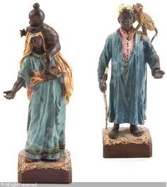 BERGMAN Franz - Middle Eastern figures, (2)