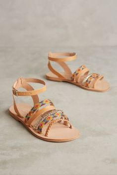 "Elina Lebessi ""JOY"" sandals available at Anthropologie"