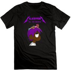 Men's Lil Uzi Vert 100% Cotton O Neck T-Shirt | Amazon.com ($20) ❤ liked on Polyvore featuring men's fashion, men's clothing, men's shirts, men's t-shirts, mens t shirts, mens cotton t shirts and mens cotton shirts