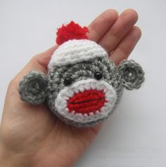 now you can creat your own. Ravelry: Sock monkey tape measure cover pattern by Justyna Kacprzak