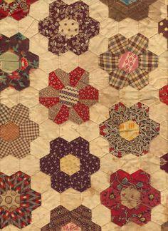Hexagons, circa 1840