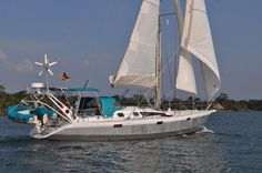 Alubat Ovni 435 boats for sale Sailing Ships, Sailing Yachts, Sailboats For Sale, Cruise Boat, Aluminum Boat, Luxury Travel, Adventure, Generators, Outdoors