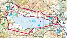 15 Best Walks in the Lake District (Includes Easy + Short Walks) - Becky the Traveller Lake District Walks, Peak District, Cool Places To Visit, Places To Go, Oxford England, London England, Ordnance Survey Maps, British Travel, London