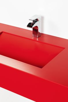 Lavabo Armony - Rosso Monza (Acabado Suede)