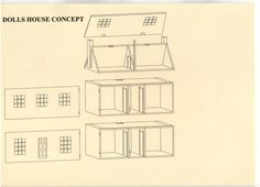 Printable dollhouse furniture plans on two story doll house plans
