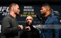 CLEVELAND – UFC 203 will takes place on Saturday at the Quicken Loans Arena in Cleveland. The main card will air on pay-per-view while the prelims on FS1 and UFC Fight Pass. UFC 203 early weigh…