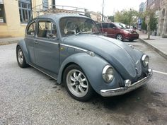 """My 1970 VW Beetle """"Smoky"""". He was an extra in the Fast & Furious Fast 5 movie and autographed by the late Paul Walker on the glove box."""