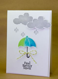 Creative Inspirations: Jane's Doodles - Feel Better Soon remember cloud dies