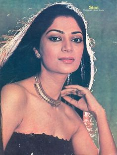 Bollywood Cinema, Indian Bollywood Actress, Bollywood Stars, Indian Actresses, Actors & Actresses, Simi Garewal, Western Photography, Film Archive, Vintage Bollywood