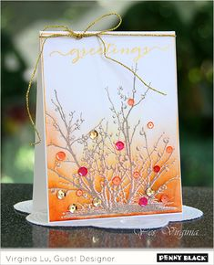 Click through to the Penny Black blog for supplies and instructions for this Fun Friday creation