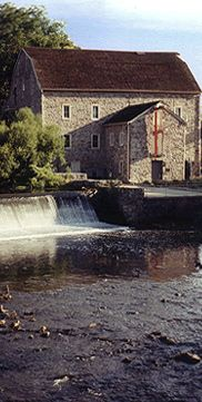 """Hunterdon Art Museum in Clinton, NJ.  One of my very favorite """"small"""" museums.  Its in a restored mill."""