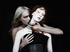 'Fountain Of Youth' .Codie Young And Asia Bugajska By Ovini Boris For The Dorian Issue Of Exhibition Magazine . April 2013. 4