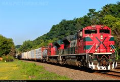 RailPictures.Net Photo: FXE 4087 Ferromex EMD SD70ACe at Fonda, New York by Mike Young