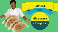 RAVIOLI CINESI ecco la miglior ricetta per preparare i ravioli cinesi, alla griglia e alla piastra, a casa nostra!  DUMPLINGS this is the video-recipe that teach you to cook chinese dumplings by your own!!!