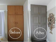 Before After Closet Makeover | HowFantasticBlog.com