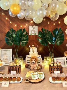 Little Lion Birthday Party on Kara's Party Ideas | KarasPartyIdeas.com (6)