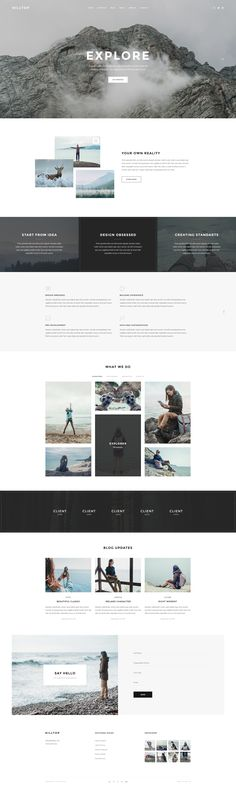 Hilltop is ideal template to showcase your works and will help to make bold impression on your visitors and clients. Template was designed for all types of creative professionals.      Template Featur...