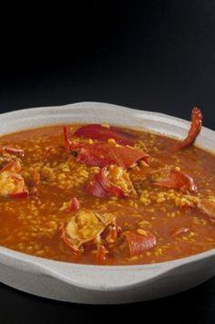 Arroz con bogavante Cuban Recipes, Italian Recipes, Spanish Recipes, Italian Foods, Good Food, Yummy Food, Tasty, My Favorite Food, Favorite Recipes