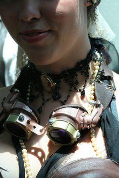 Steampunk Costume Goggles
