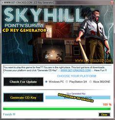 Skyhill Free Game CD Key Generator [2015]
