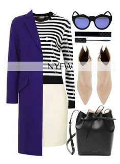 """Pack for NYFW"" by alaria ❤ liked on Polyvore featuring Topshop, Michael Kors, Kendall + Kylie, Mansur Gavriel, Le Specs, Gucci and NYFW"