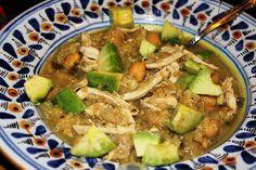 Healthy Quinoa White Chicken Chili. Healthy and Gluten-free