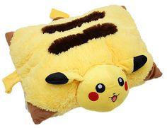 Pokemon Pikachu Pillow Pet Plush - Makes A Great Christmas Gift! Pokemon Decor, Pokemon Room, Pokemon Gifts, Pokemon Stuff, Pikachu Pikachu, Bedroom Themes, Bedroom Decor, Bedroom Ideas, Bedrooms