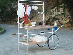 Approda a Milano Q-CINA, la cucina mobile su ruote per lo street-food