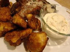 Grace2882- Low carb- Fried Cauliflower with Caper Aioli