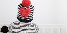 Love this amazing source for handknit wool hats + accessories, or patterns so you can DIY | Wool and the Gang