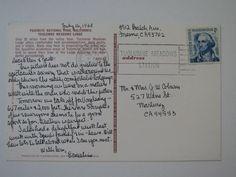 Vintage Color Postcard Yosemite Tuolumne Meadows Lodge Posted 1968 | eBay