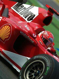 Michael Schumacher at Monza 2004!