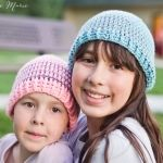 Crochet Striped Beanie Pattern- multiple sizes