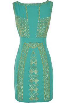 Queen of the Nile Embellished Bodycon Dress in Jade  www.lilyboutique.com