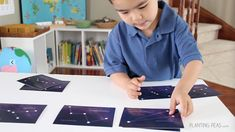 7 Montessori-Inspired Astronomy Activities using Montessori By Mom Space Explorer Toolbox.