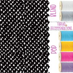 Lil Scribble  Personalization Recommendations Thirty-One Fall 2017 #TOTEallyAddicted www.TOTEallyAddic... #ThirtyOne #ThirtyOnePersonalization #ThirtyOneFall2017 #LilScribble #ThreadColors