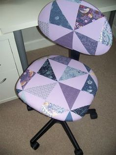 Patchwork Chair Cover Tutorial
