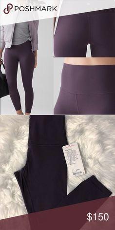 227fad196 NWT Black Currant Align Size 4 NWT lululemon athletica Pants Leggings Black  Currants