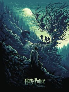 Harry Potter and the Prisoner of Azkaban by Dan Mumford - Home of the Alternative Movie Poster -AMP- Harry Potter Tumblr, Fanart Harry Potter, Harry Potter Poster, Wallpaper Harry Potter, Arte Do Harry Potter, Harry Potter Pictures, Harry Potter Love, Harry Potter Universal, Harry Potter World