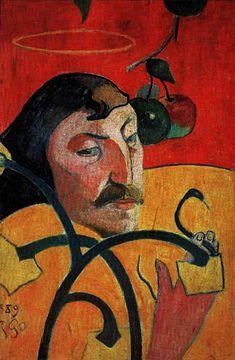 Paul Gauguin, auto-retrato com halo, 1889 Paul Gauguin, National Gallery Of Art, Pop Art, Impressionist Artists, Canvas Prints, Art Prints, Oil Painting Reproductions, Art Moderne, Paul Klee
