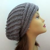 The Yvette Slouch Hat - via @Craftsy