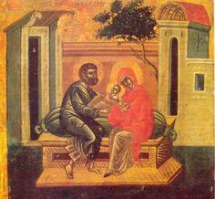 Πνευματικοί Λόγοι: Άγιος Παΐσιος: Οι άγιοι Ιωακείμ και Άννα είναι το ...