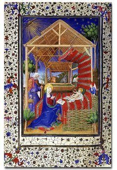 Book of Hours illustrated manuscript